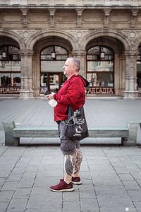 Albertina - Spaziergang mit Hörlhasen in Wien