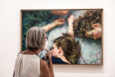 True Lies Ausstellung von Xenia Hausner in der Albertina 2021