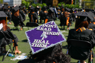 Spring 2021 commencement, Friday, May 21, 2021.