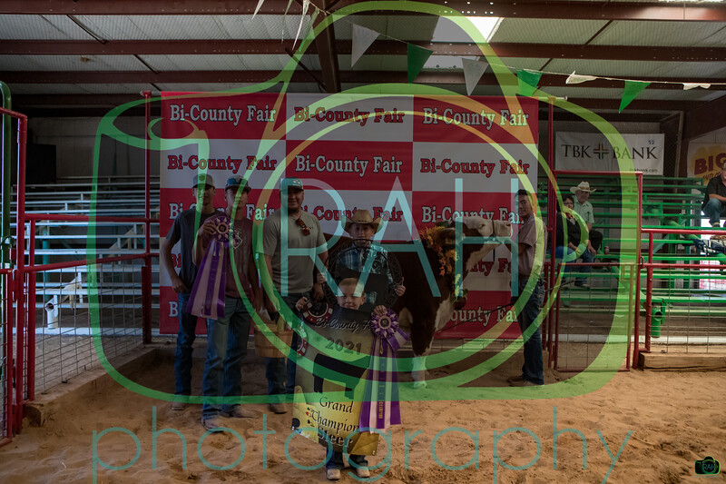 Bi-County Fair Awards & Jr. Livestock Sale 9-4-2021