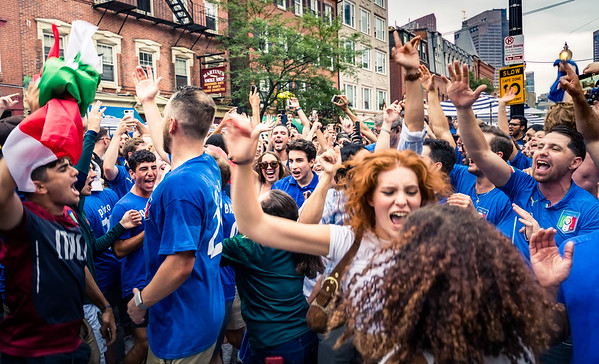 Boston's North End erupts as Italy Wins European Championship