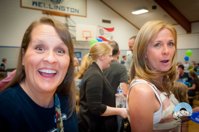 20th Annual PACE Sock Hop held Friday, April 1, 2016 at Wellington Elementary in Woodinville, WA