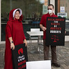 210918 Red Cloak Protest in Raleigh 007