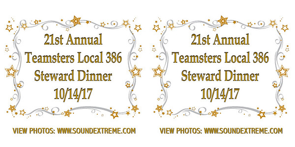 21st Annual Teamster Local 386 Steward Dinner