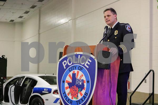 Tyler Police Dept Award Ceremony