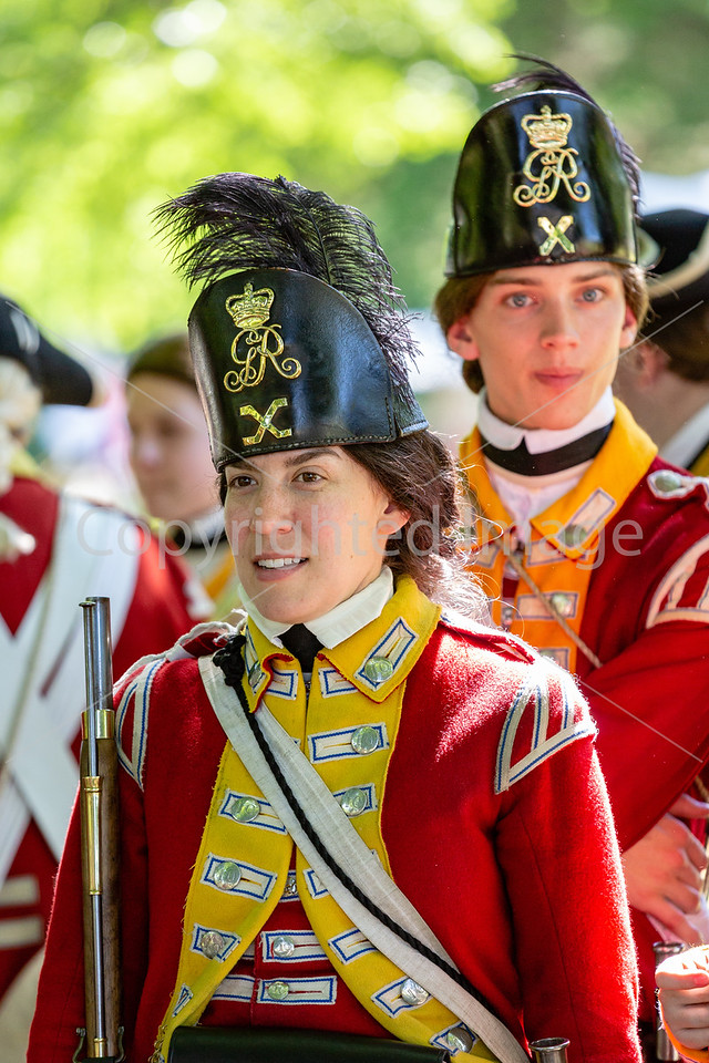 240th Anniversary of the Battle of Monmouth Reenactment