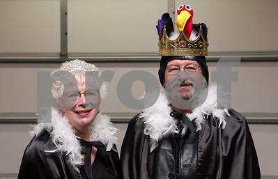 Jeanne and Jim Lea of Grand Saline were crowned Mr. and Mrs. Old Buzzard at Buzzard Fest Saturday Feb. 6, 2016 in Grand Saline.  (Sarah A. Miller/Tyler Morning Telegraph)
