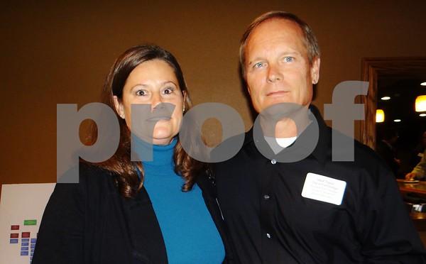 Celia and Mark Taylor.