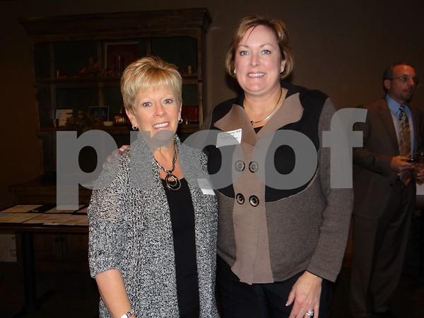 Diane Whittier and Molly Johnson Bird.