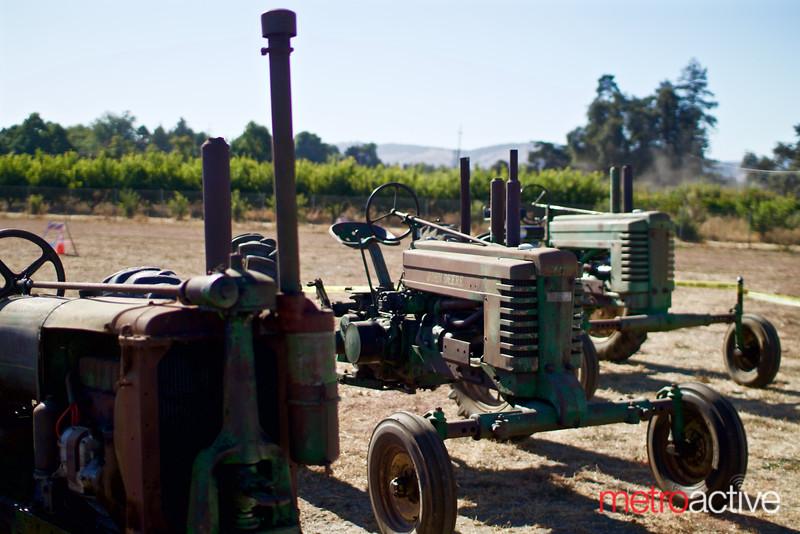 Original Martial Cottle tractors