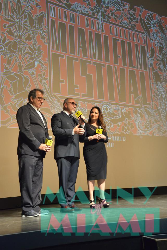 Kenny Ortega, Gloria Estefan, Emilio Estefan