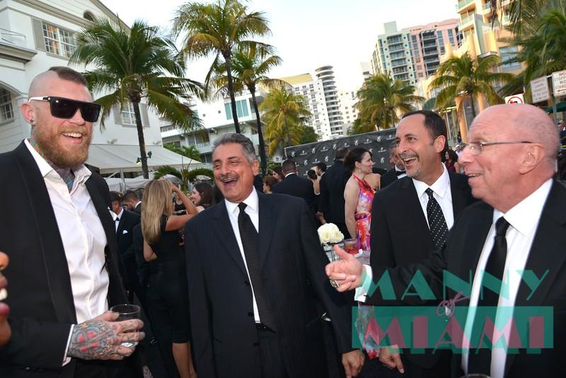 Chris Andersen, Tony Florentino, Eric Reid, Ron Rothstein
