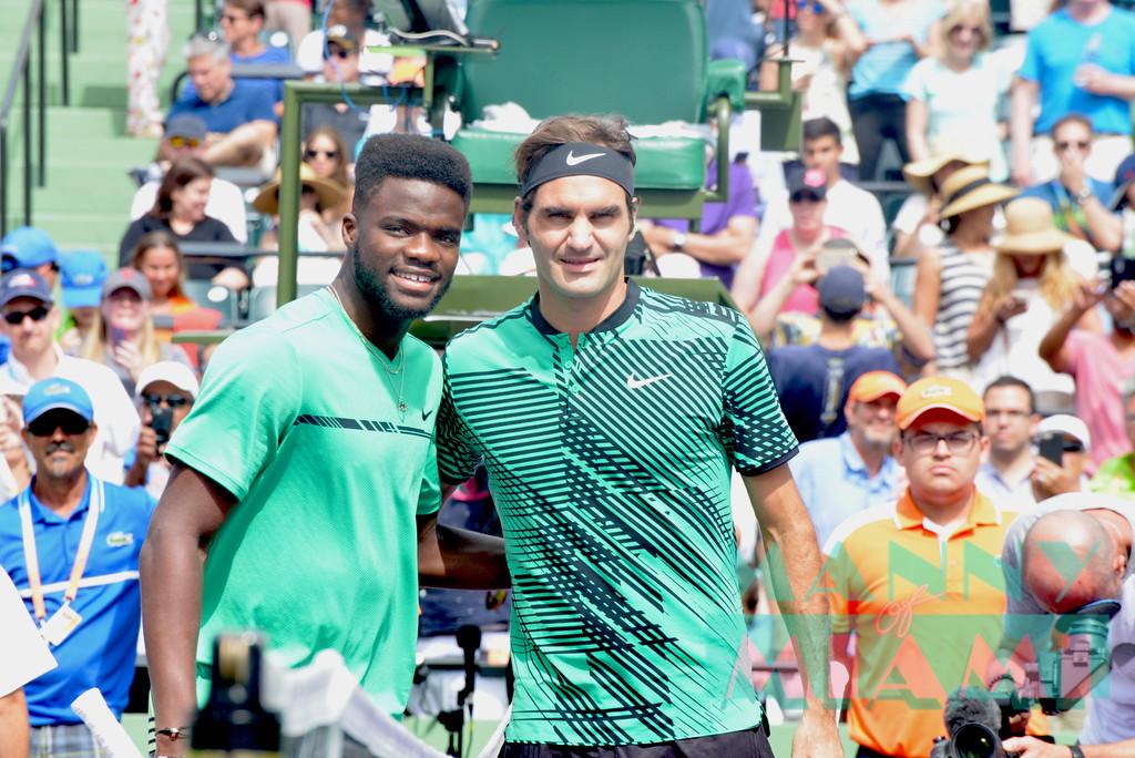 Frances Tiafoe, Roger Federer