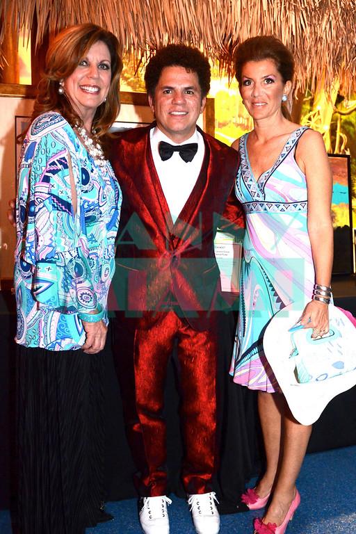 Deborah Spiegelman, Romero Britto & Gloria Porcella