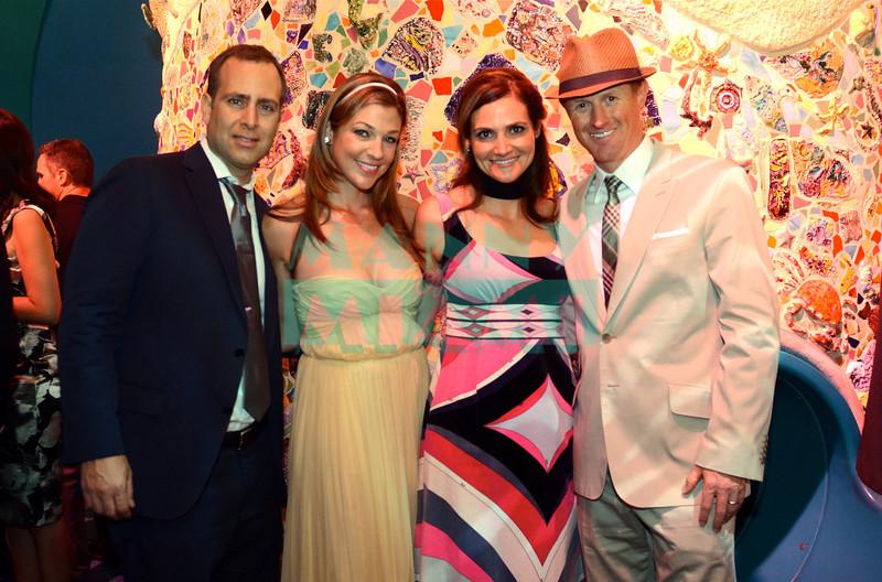Jeff & Michele Erez, Lisa & Jeffrey Akin