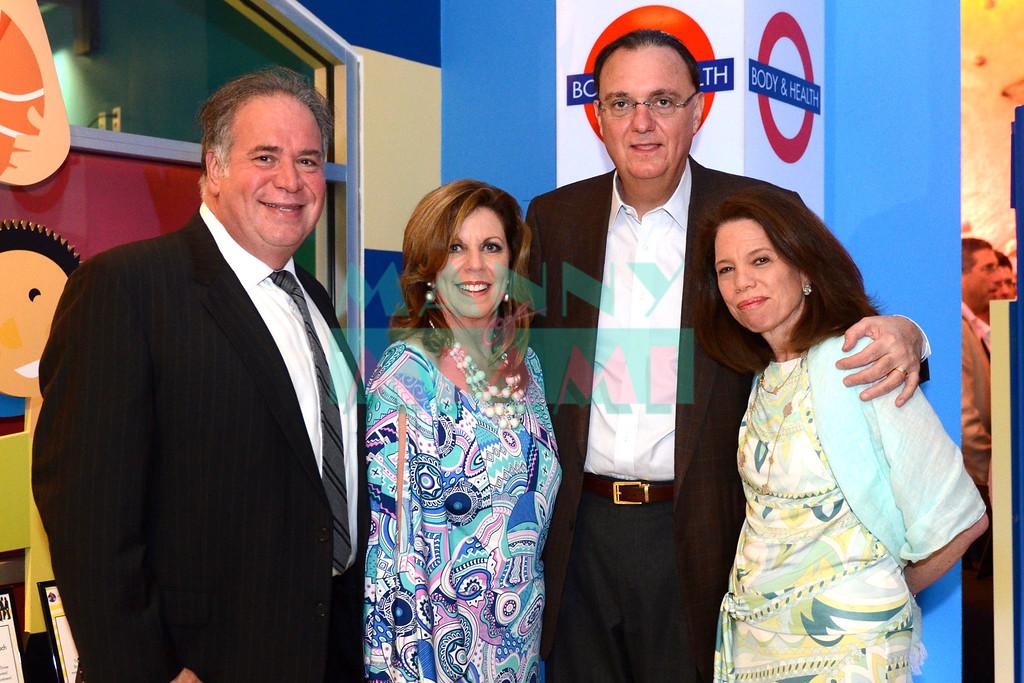 Dr Barry Wander, Deborah Spiegelman, Richard & Susan Lampen