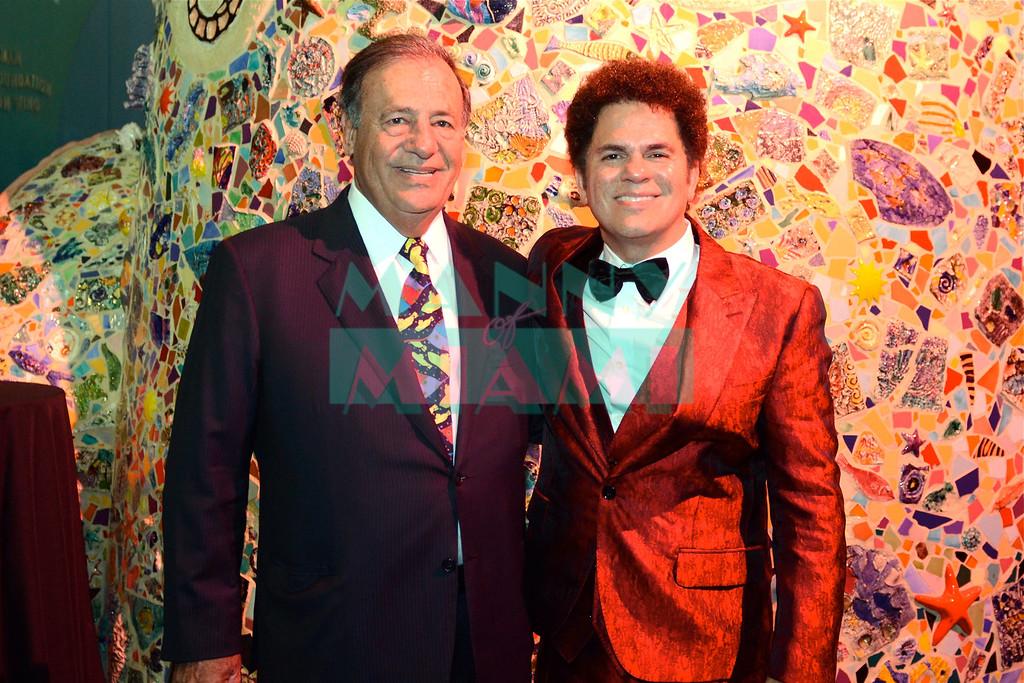 Jeff Berkowitz & Romero Britto