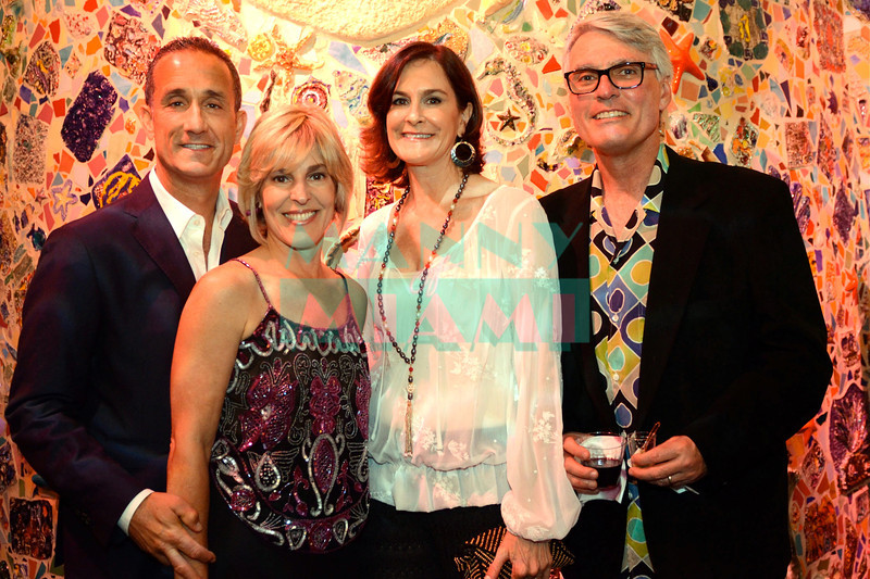 Evan & Sefanie Reed, Marianne & John Devine