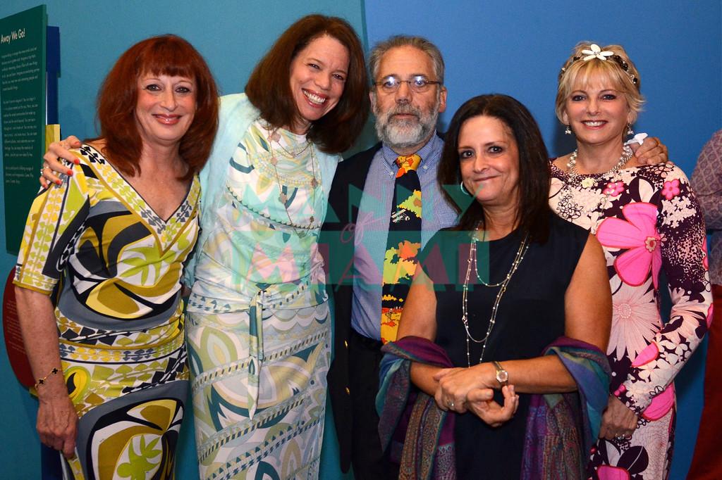 Eddi Freeman, Susan Lampen, Larry & Sheila Forman, Amay Reshefsky
