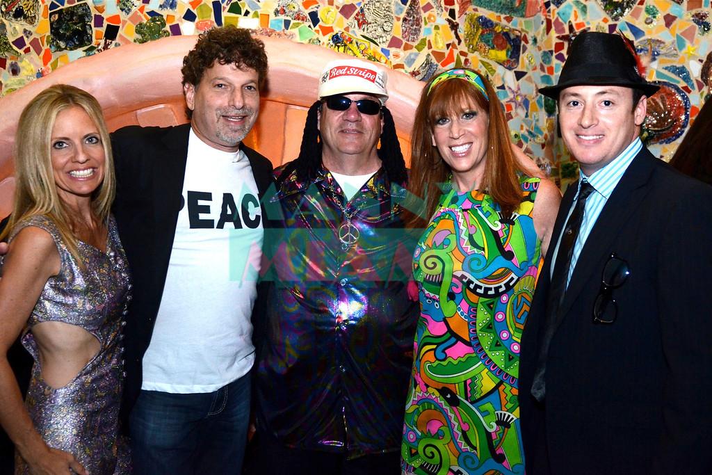 Leslie & Wayne Pathman, Richard Berkowitz, Sandy Grossman & Michael Berkowitz