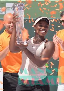 3-31-18 - Miami Open Women's Finals