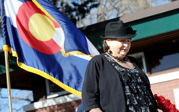 """Juanita Razo talks about her brother, William an the memorial service.<br /> It has been 30-years since William Duran and Scott Smith died in a fire training exercise in Boulder. Friends and family gathered at Station No. 3 in Boulder  to remember the sacrifice.<br /> For a video and photos from the ceremony, go to  <a href=""""http://www.dailycamera.com"""">http://www.dailycamera.com</a>.<br /> January 26, 2012 / Cliff Grassmick"""