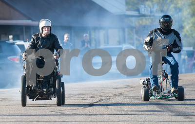 Motorized Barstool Race