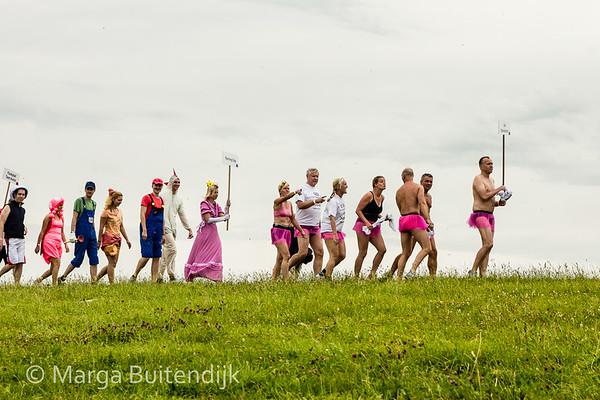 31st Mudflat Sledge Championships in Upleward - Ostfriesland