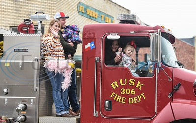 Rusk held their first ever family-friendly Mardi Gras Parade on Saturday, March 2.  The event took place in downtown Rusk and included a King Cake competition, car show, live music, bounce house , face painting and more. (Jessica T. Payne/Tyler Morning Telegraph)
