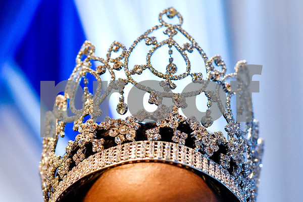 Miss Jarvis Christian College 2016-2017 Breeya Washington's crown, photographed at the Mr. and Miss Jarvis Pageant at Jarvis Christian College in Hawkins, Texas, on Wednesday, March 22, 2017. The pageant featured personal style, professional attire, an oral presentation, formal wear, and question and answer rounds. (Chelsea Purgahn/Tyler Morning Telegraph)