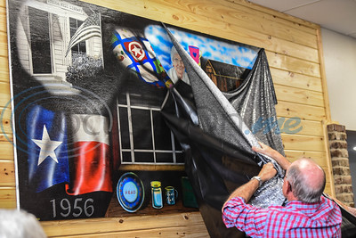 A mural was unveiled during to the Grand Reopening and Open House of the Stella Memorial Library in Alto. The event took place on Sunday, March 24 and included a Ribbon Cutting, door prizes and refreshments. (Jessica T. Payne/Tyler Morning Telegraph)