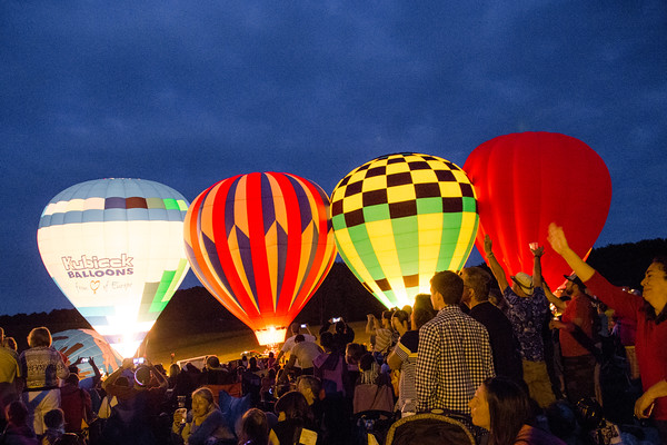 34th Annual Hot Air Balloon Night Glow!