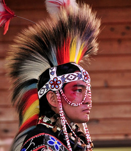 Adam Nordwall,  World Champion Grass Dancer,  Taken at 34th Miccosukee Indian Arts Festival, Jan 09