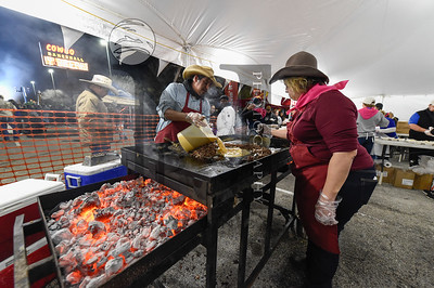The Annual Cowboy Breakfast is a long standing tradition since 1979 here in San Antonio. It kicks off the San Antonio Stock Show and Rodeo season. Thousands attend the event that starts at 4:30 AM with free food and live music! http://smu.gs/2kELDQe