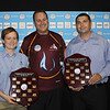Sarah Walton from Seqwater (Young Operator of the Year), David Cameron Executive Officer at qldwater and Matthew Cook from North Burnett Regional Council (Queensland Operator of the Year - Civil/All Rounder)