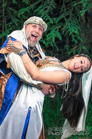 Baron Mut Amin and Baroness Azarrah Baron Mut Amin and Baroness Azarrah