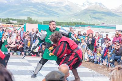 Fight Show - the final showdown.