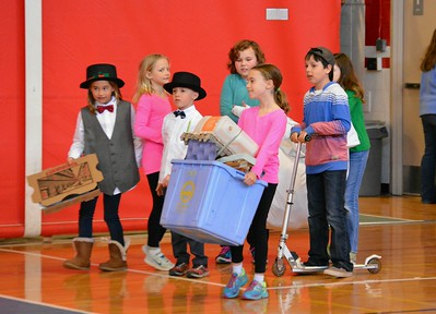 3rd & 4th Grade Odyssey of the Mind Division I Team