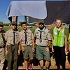 Boy Scout Troop #163 at the 3rd Annual Martial Cottle Harvest Festival