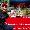 County Supervisor Mike Wasserman at the 3rd Annual Martial Cottle Harvest Festival