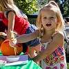 Pumpkin painting at the 3rd Annual Martial Cottle Harvest Festival