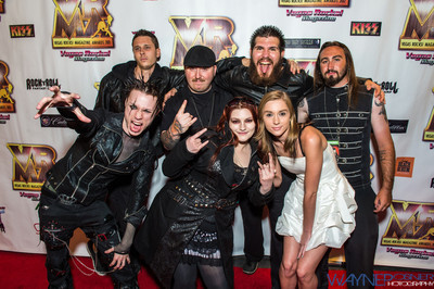 DreamScar on the Red Carpet at the Vegas Rocks Award Show