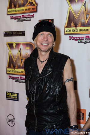 Michael Schenker on the Red Carpet at the Vegas Rocks Award Show