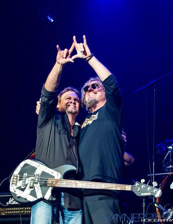 Sammy Hagar and Michael Anthony at the Vegas Rocks Award Show