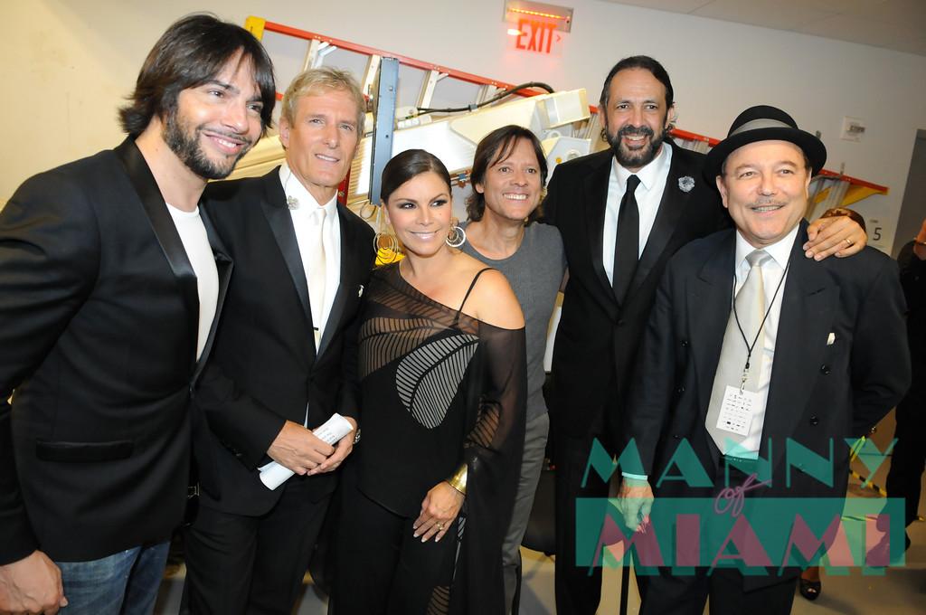 Joaquin Cortes, Michael Bolton, Olga Tanon, Juan Luis Guerra, Ruben Blades