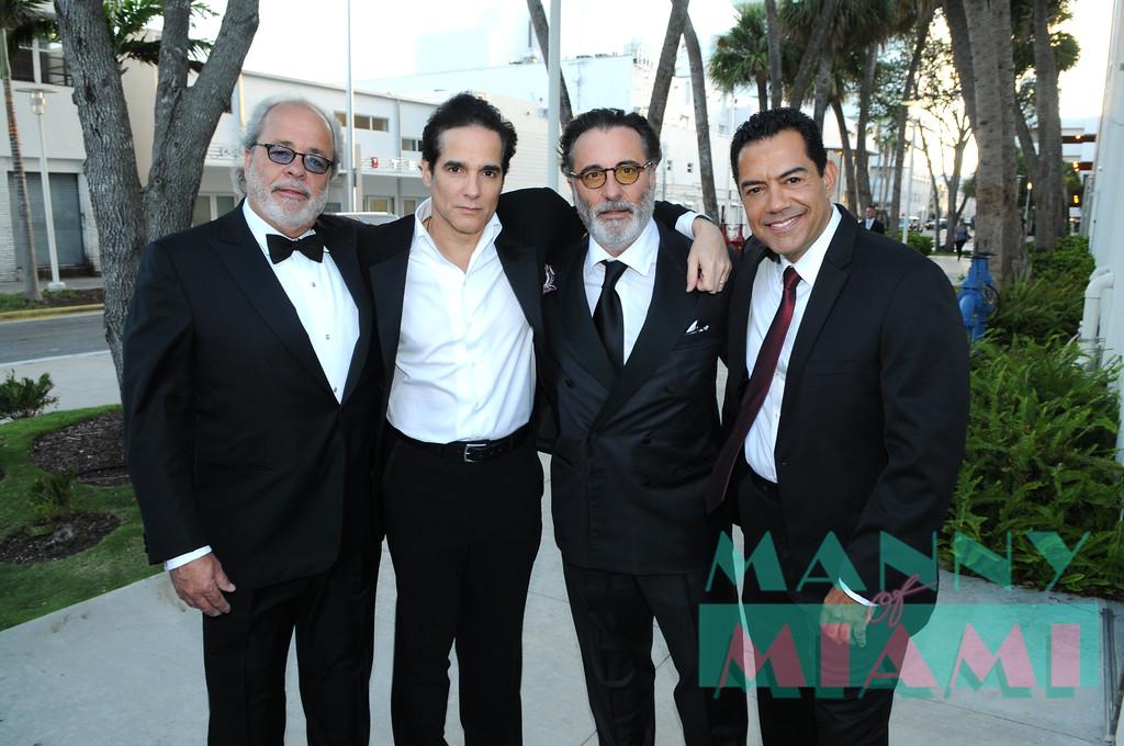 Yul Vazquez, Andy Garcia, Carlos Gomez