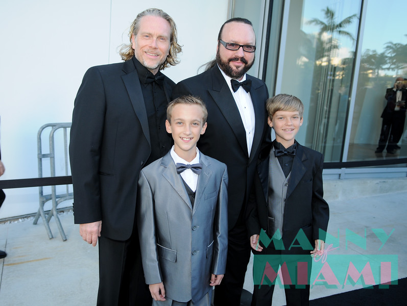 Desmond Child and family