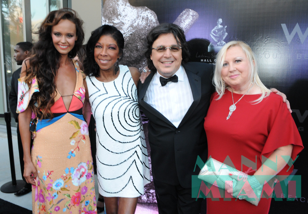 Shaila Durcal, Natalie Cole, Rudy Perez, Betsy Perez