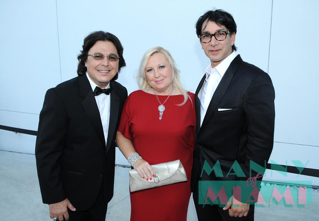 Rudy Perez, Betsy Perez, Rene Ruiz