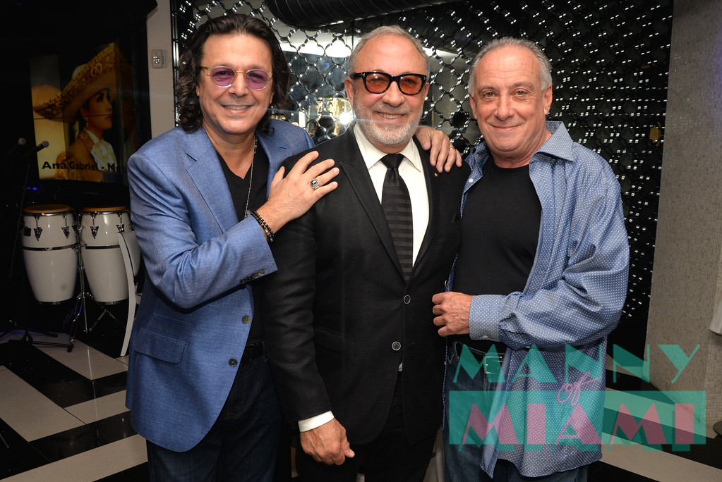 Rudy Perez, Emilio Estefan, Frank Fiori